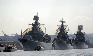 Ukraine Russia Navy Day