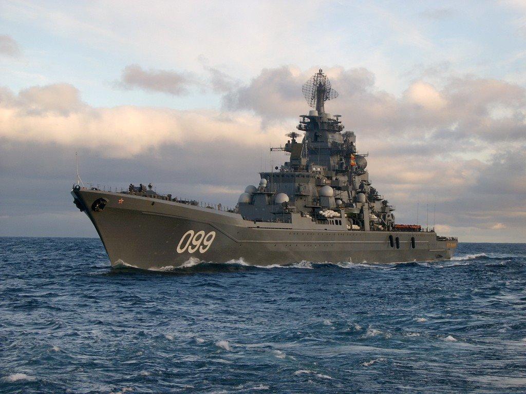 Cruzador nuclear Admiral Nakhimov receberá o mais recente sistema de mísseis antiaéreos S-400
