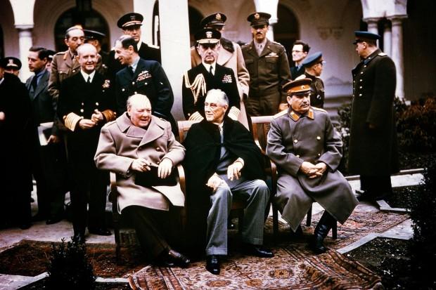 Zweiter-Weltkrieg-Konferenz-von-Jalta-1945