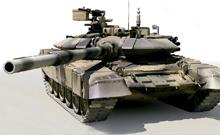 Индия проведет модернизацию 600 танков Т-90