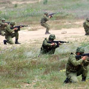 Комбаты ЮВО тренируются в горах Армении
