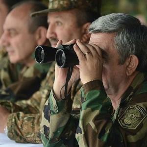Президент Армении отправился в Нагорный Карабах