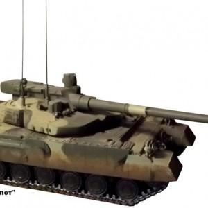 """Похоже, хваленая """"Армата"""" чуть перекрашенная копия харьковского танка?"""