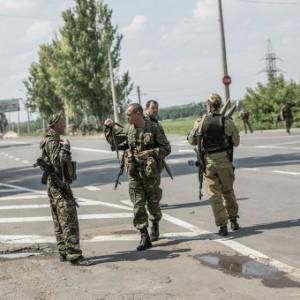 В районе Марьинки украинские воины отбили нападение двух групп пехоты боевиков
