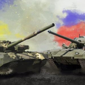 """Российская """"Армата"""" против украинского """"Оплота"""""""