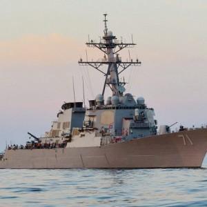 НАТО ввела в Чёрное море боевые корабли