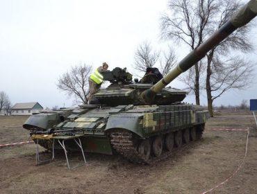 Как в 17-й бригаде ВСУ подготовили к боевым действиям танки Т-64БВ и БМП-2
