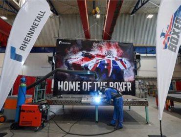 Началось производство ББМ «Боксер» для ВС Великобритании